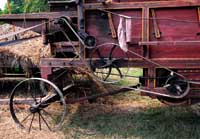 385. Antique Thresher